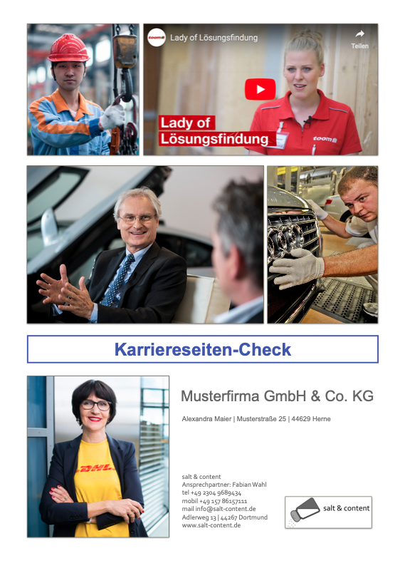 Karriereportal analysieren lassen