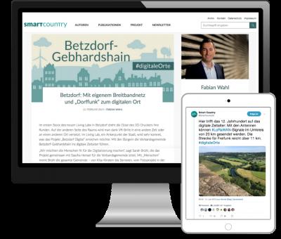 Blogserie und Twitter-Berichterstattung für das Projekt Smart Country der Bertelsmann Stiftung.